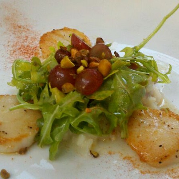 Seared Scallops - Cafe Terra Cotta, Littleton, CO