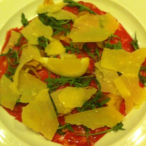 Beef Carpaccio - Union Square Cafe, New York, NY