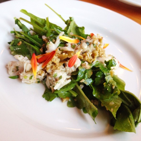 Arugula, Albacore Tuna, Green Olives And Parsley  - Ned Ludd, Portland, OR