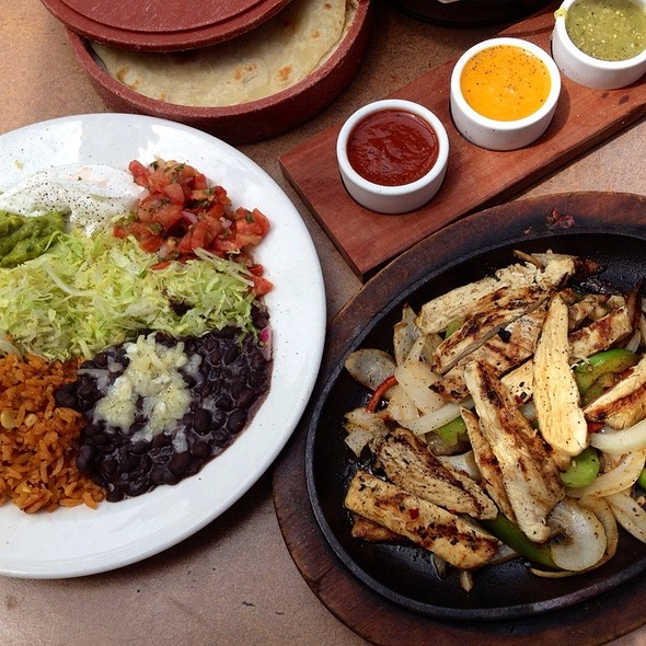 Chicken Fajita - Fat Fish Cantina Grill, San Diego, CA