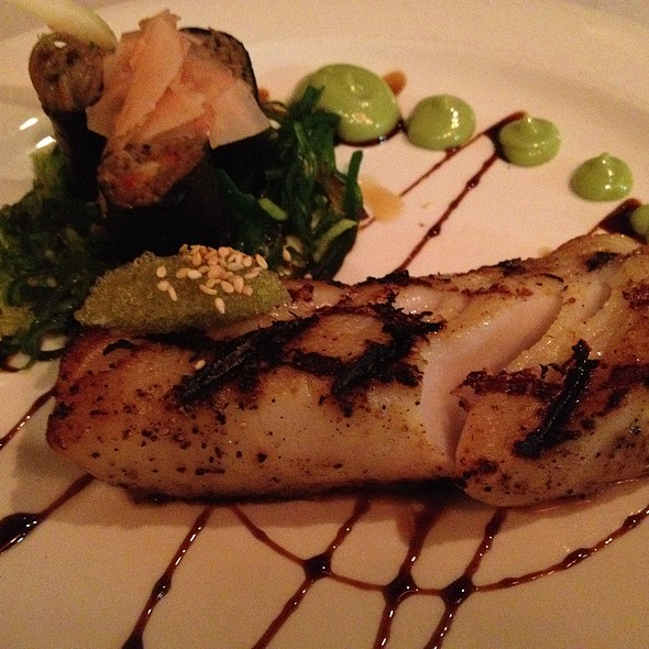 Sake-Miso Marinated Alaskan Butterfish - Blue Ginger, Wellesley, MA