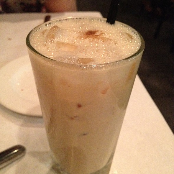 Gosling's Gold Iced Chai Latte - Blue Ginger, Wellesley, MA