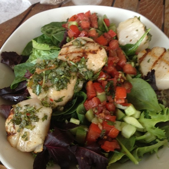 Grilled Scallops - The Grand Marlin of Pensacola Beach, Pensacola, FL