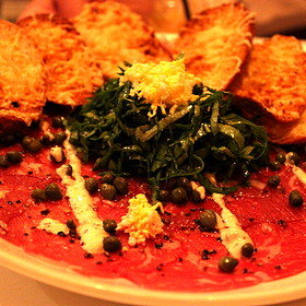 Beef Carpaccio - Fleming's Steakhouse - Newport Beach, Newport Beach, CA