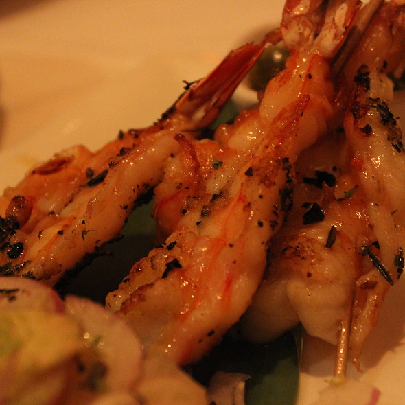 Jumbo Shrimp Scampi Skewers - Fleming's Steakhouse - Newport Beach, Newport Beach, CA