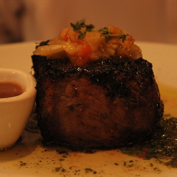 Prime New York Strip Steak - Fleming's Steakhouse - Newport Beach, Newport Beach, CA