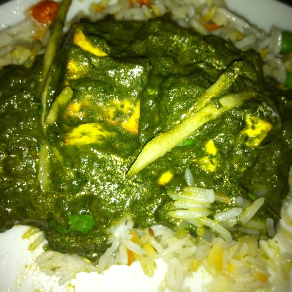Saag Paneer - Nirvana, New York, NY