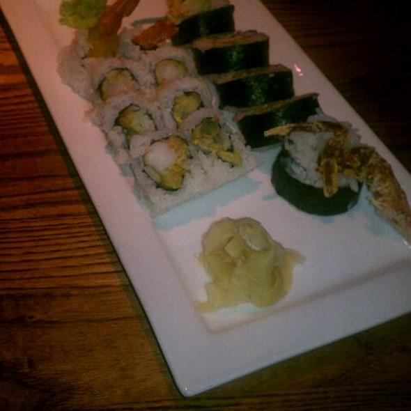 Shrimp Tempura  And Soft Shelled Crab Sushi - Kona Grill - Omaha, Omaha, NE