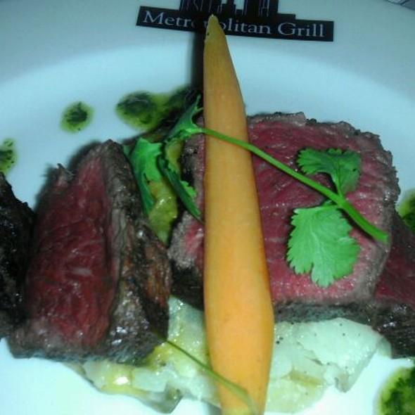 35 Day Dry Aged American Waygu - The Metropolitan Grill – Temporary Renovation Closure June 19–Mid-August, Seattle, WA