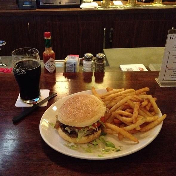 Texas Burger - Blue Star Cafe and Pub, Seattle, WA
