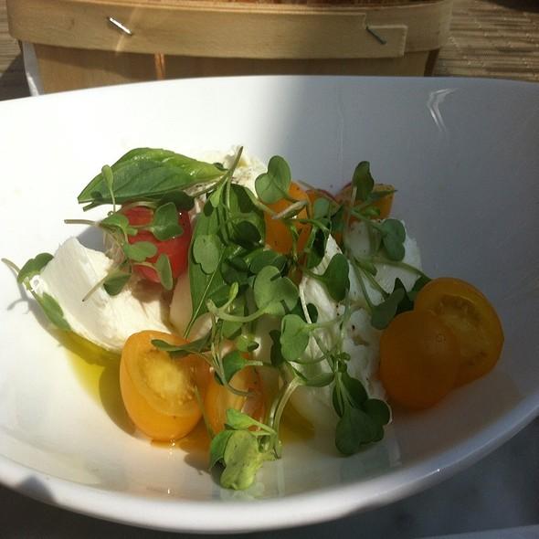 Local Tomato Buffalo Mozzarella Salad - Jedediah Hawkins, Jamesport, NY