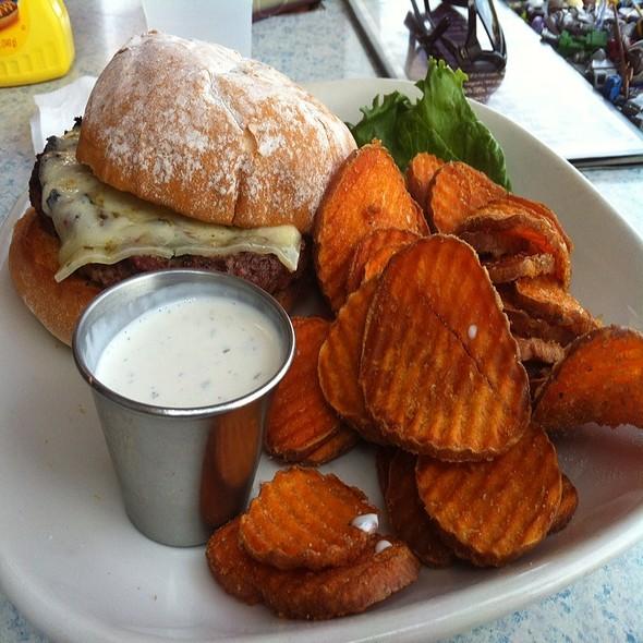 Bison Burger - Girvan Grille, Brooklyn Park, MN