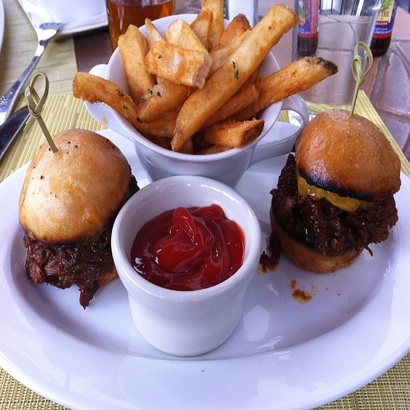 Bbq Brisket Sliders - Atwater on Gore Creek, Vail, CO