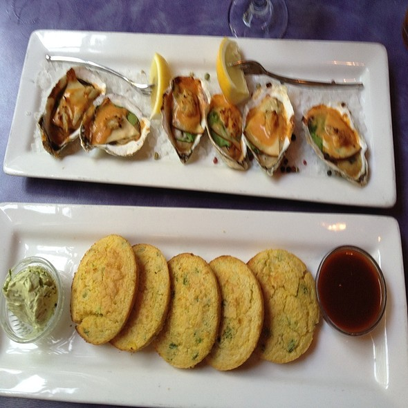 Oysters And Jalapeno Poppers - The Old Bay Restaurant, New Brunswick, NJ
