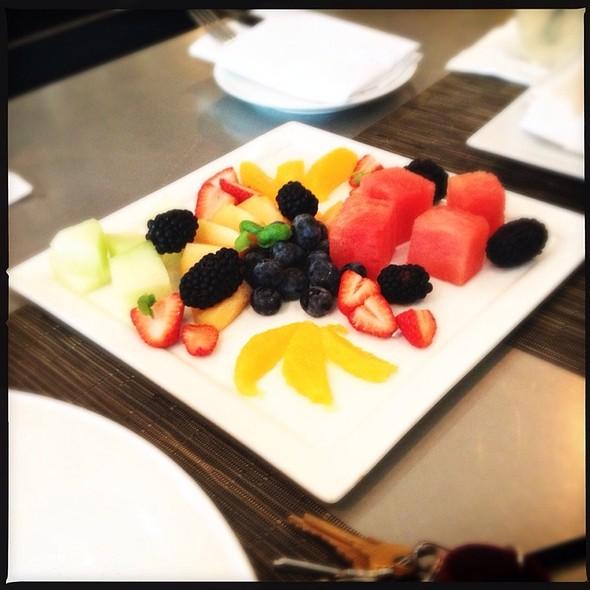 Fruit Plate - Bistro du Midi, Boston, MA