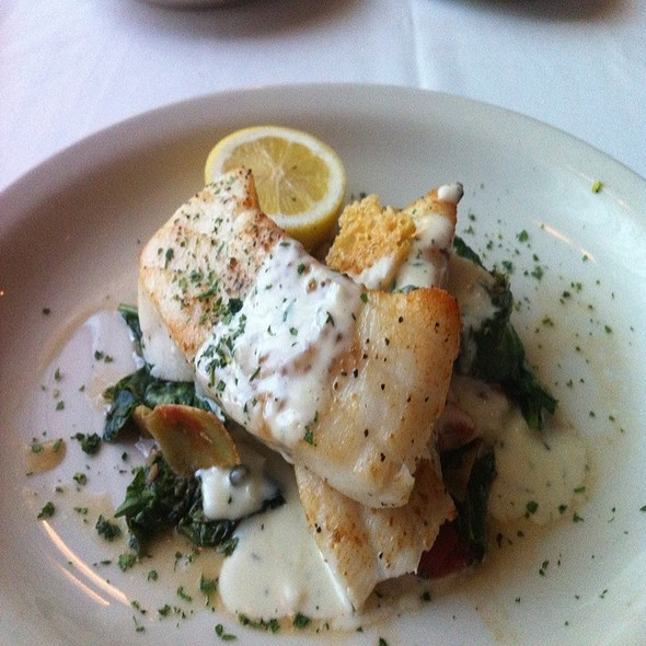 Baked sea bass - Bob's Steak & Chop House - Grapevine, Grapevine, TX