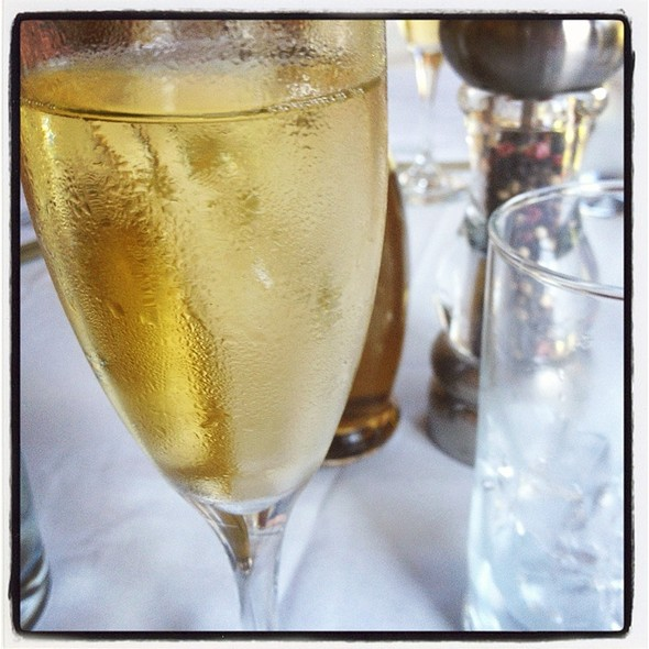 Champagne - The Jamesport Manor Inn, Riverhead, NY