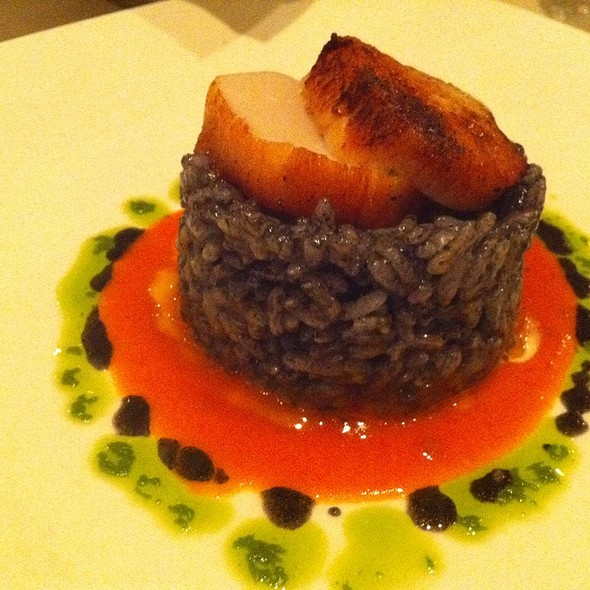 Squid Ink Risotto - Capannina, San Francisco, CA