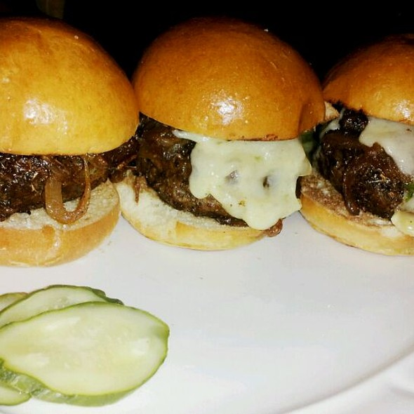 black angus beef slidders - West End Cafe, Carle Place, NY