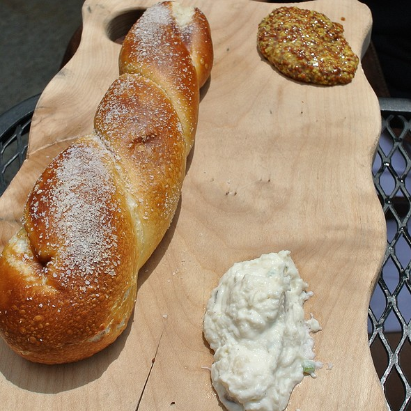 Pretzel Bread - Market Garden Brewery, Cleveland, OH