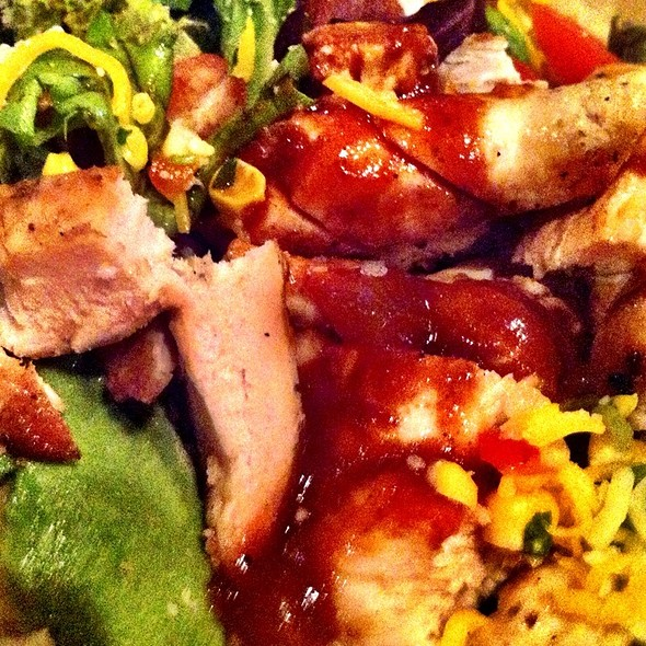 Southwestern Bbq Chicken Salad - The Long Valley Pub & Brewery, Long Valley, NJ