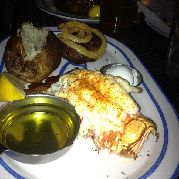 Lobster Tail & Filet Mignon - Real Seafood Company - Toledo, Toledo, OH