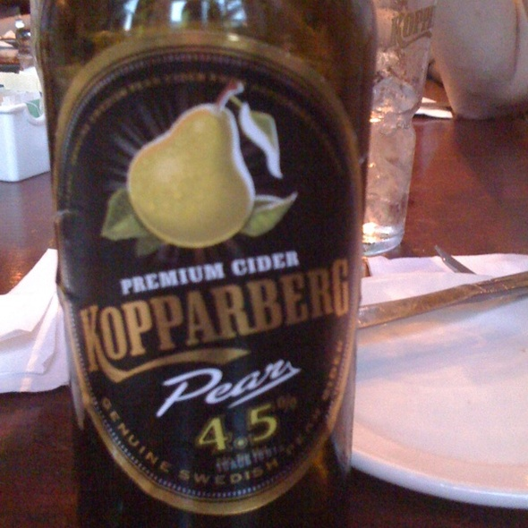 Kopparberg Pear Cider - The Paris Cafe, New York, NY