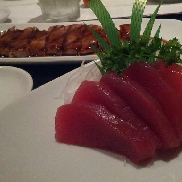 Beef Teriyaki Sashimi Combo - Mitsuyoshi Restaurant, Stanton, CA