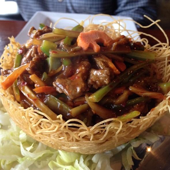 Manchurian Birdnest - Kam's Wok Wine Dine, Houston, TX