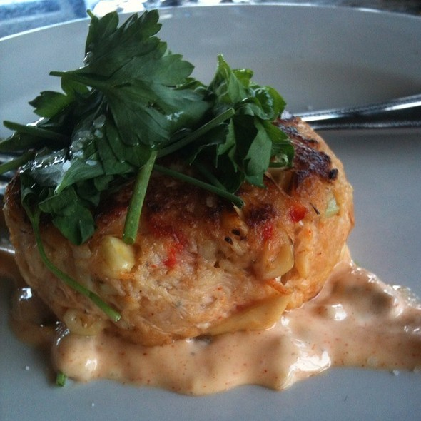 Lump Crab Cake - The Bistro at Childress Vineyards, Lexington, NC