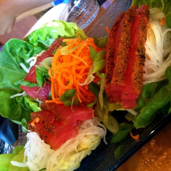Spicy Ahi Lettuce Wraps - Kalani's, South Lake Tahoe, CA