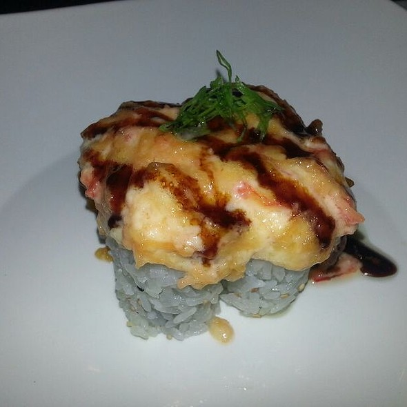 Volcano Roll - Taki Japanese Sushi & Hibachi Restaurant, Dunwoody, GA
