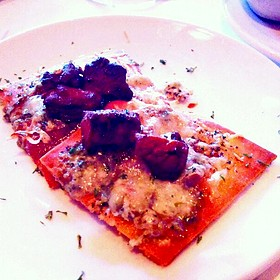 Filet Mignon Flatbread - Fleming's Steakhouse - Winter Park, Winter Park, FL