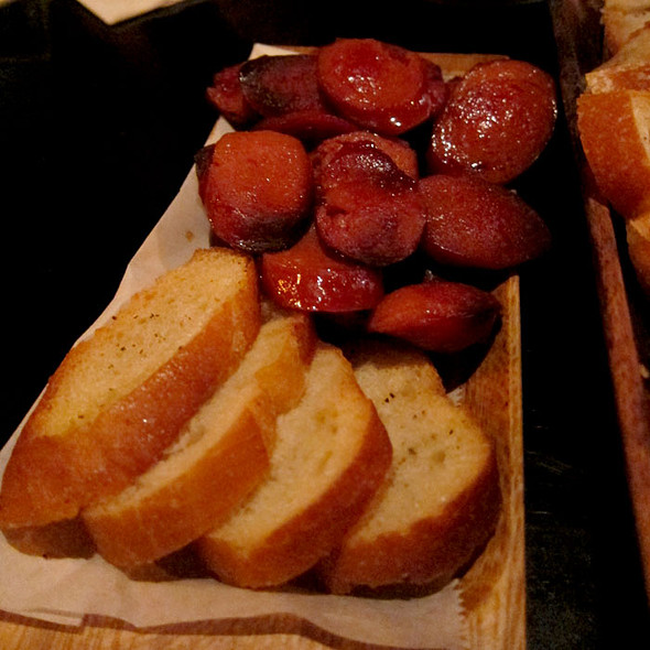 Bread and Sausages - Fondue Cowboy, San Francisco, CA