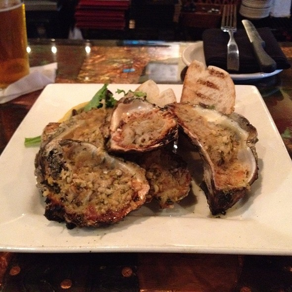 Grilled Oysters - Laurrapin Grille, Havre De Grace, MD