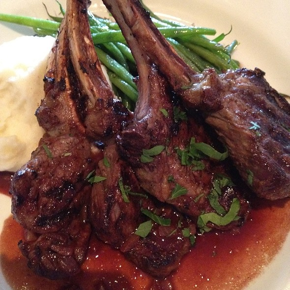 Rack of Lamb - Trapeze European Cuisine, Burlingame, CA