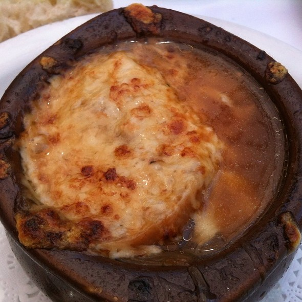 French Onion Soup - Cafe de la Presse, San Francisco, CA