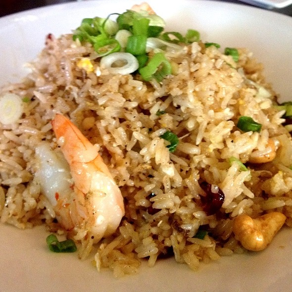 Pineapple Fried Rice - Kindee Thai Restaurant, Minneapolis, MN
