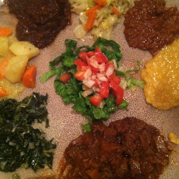 Vegetarian Tasting Menu - Ethiopian Diamond, Chicago, IL