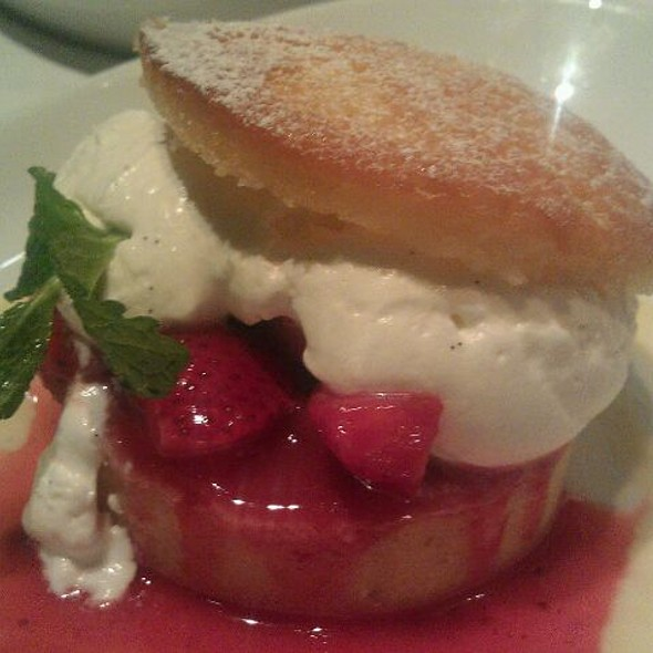 strawberry shortcake - Atlantic Grill Near Lincoln Center, New York, NY