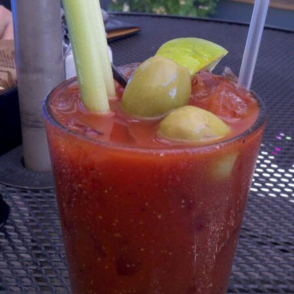 Spicy Bloody Mary - Cafe Terra Cotta, Littleton, CO