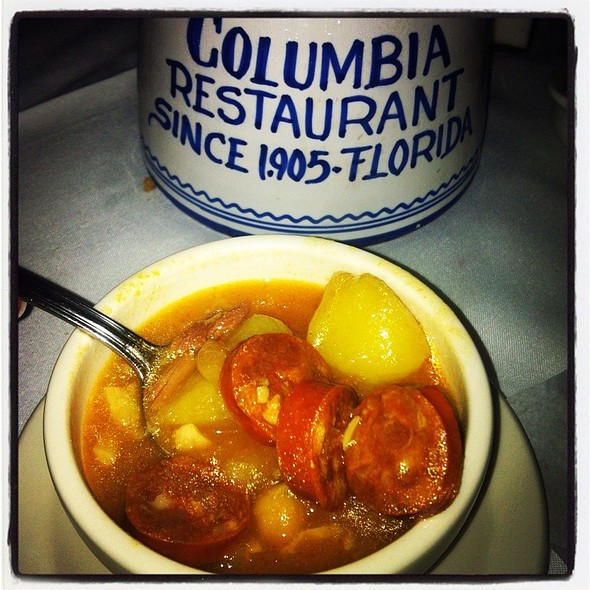 Spanish Bean Soup - Columbia Restaurant - Ybor City, Tampa, FL