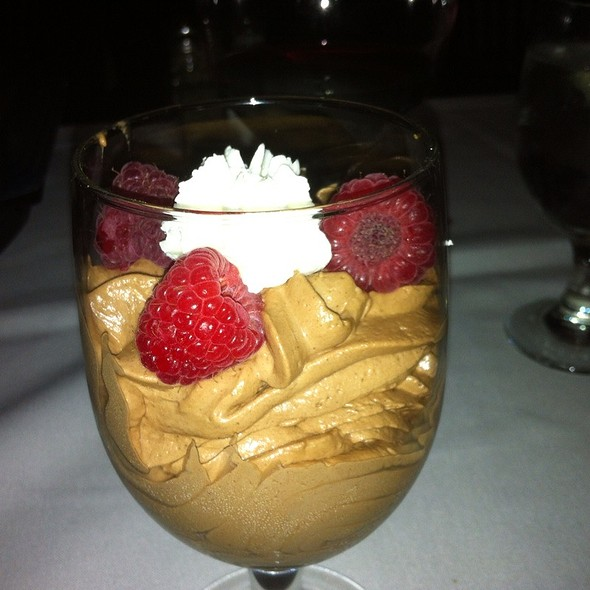 Chocolate Mousse - Del Frisco's Double Eagle Steakhouse - Houston, Houston, TX