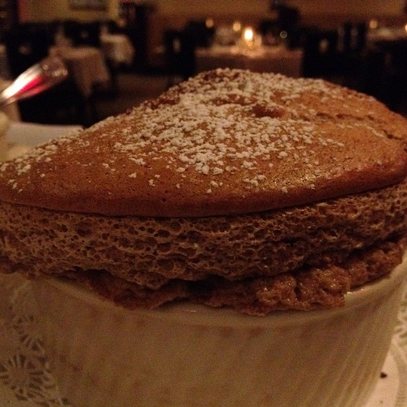 Chocolate Souffle - Morton's The Steakhouse - Ft. Lauderdale, Fort Lauderdale, FL