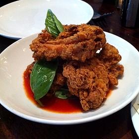 Skillet Fried Chicken Thighs - Zero Zero, San Francisco, CA