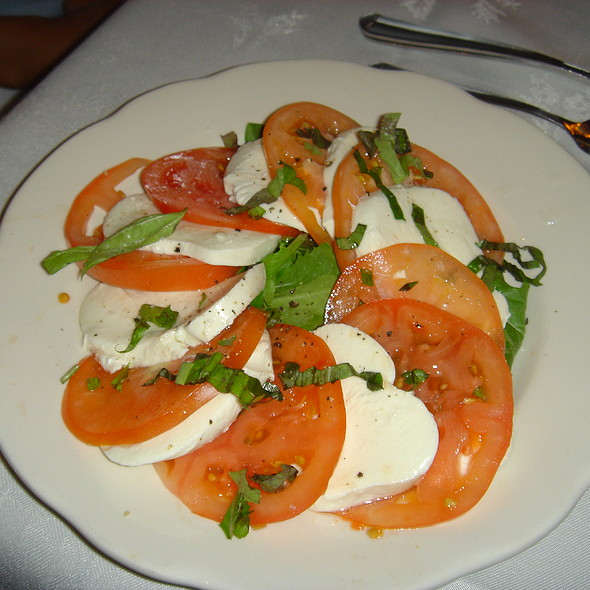 Tomato Caprese - Stonebridge Restaurant, Milford, CT
