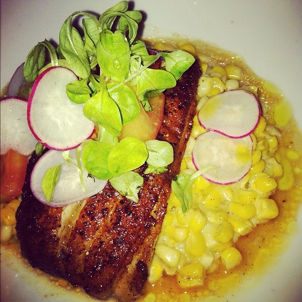 Blackened Nc Trout W/ Poblano Corn - The Admiral, Asheville, NC