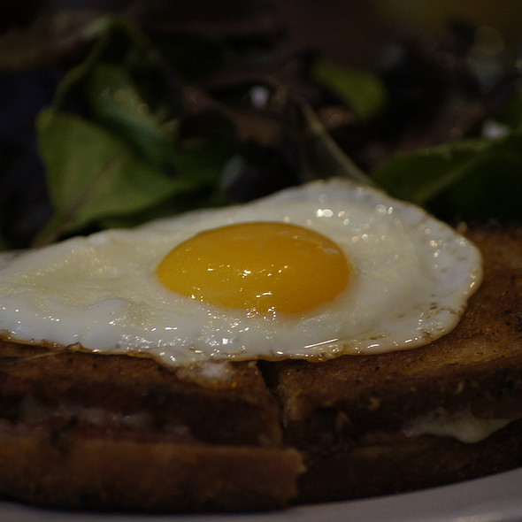 croque monsieur - Bailey Restaurant and Bar, New York, NY