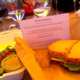 Pork Tenderloin Sandwich - Lynmar Estate, Sebastopol, CA