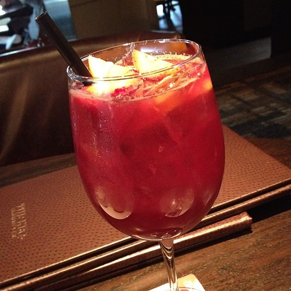 Red Sangria - The Keg Steakhouse + Bar - Yaletown, Vancouver, BC
